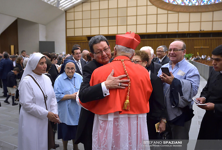 Cardinal Pedro Ricardo Barreto Jimeno,, Pope Francis leads a consistory for the creation of five new cardinals  at St Peter's basilica in Vatican on  June 28, 2018