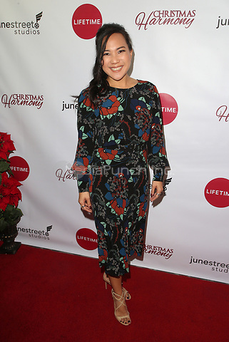 "LOS ANGELES, CA - NOVEMBER 7: Nanea Miyata, at Premiere of Lifetime's ""Christmas Harmony"" at Harmony Gold Theatre in Los Angeles, California on November 7, 2018. Credit: Faye Sadou/MediaPunch"