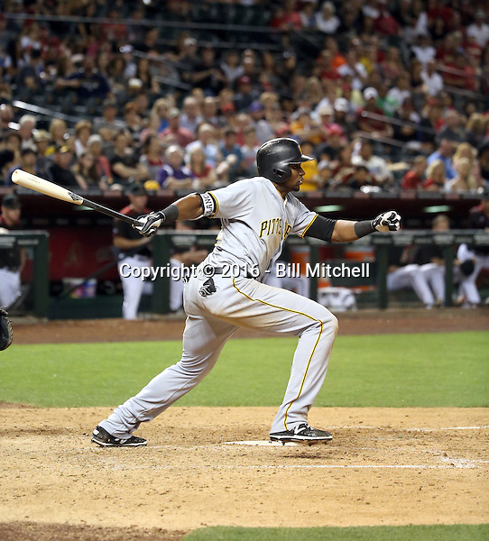 Gregory Polanco - 2016 Pittsburgh Pirates (Bill Mitchell)
