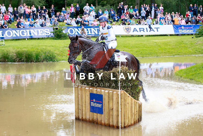 GBR-Nicola Wilson rides Bulana during the Cross Country for the CCI4* - Presented by DHL, at the 2017 Luhmühlen International Horse Trial. Saturday 17 June. Copyright Photo: Libby Law Photography