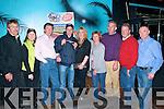 Black Pudding Eating Contest: Attending the Truly Irish sponsored  Black Pudding Eating contest at the Blue Note Night Club in Listowel on Saturday night last were Ken O'Day, Helen O'Mahony, Truly Irish, Matt Mangan, Jerry Mangan, Gemma Brosnan, Dolly Mangan, Danny O'Mahony, Mike O'Brien & Declan Mangan.