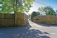 2019 09 18 Rob Howley's house in Bridgend, Wales, UK.