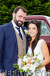 Chantal Seidler, Glenbeigh, daughter of Florian and Bridget, and Paul O'Connor, Killorglin son of Con and Marguerite, who were married in Glenbeigh church on Friday, Fr Kieran O'Sullivan officiated at the ceremony, best man was Colin O'Connor, groomsmen were Leon Seider, Shane McSweeney and Mike Reilly, bridesmaids were Emer O'Sullivan, Rachel O'Sullivan, Rebecca Lungley and Chloe Buckley, flowergirls were Molly and Aoise O'Sullivan, pageboys were Jake Carr and Jasper O'Sullivan, the reception was held in the Killarney Heights hotel