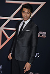 "Chris Pang 098 attends the premiere of Columbia Pictures' ""Charlie's Angels"" at Westwood Regency Theater on November 11, 2019 in Los Angeles, California."