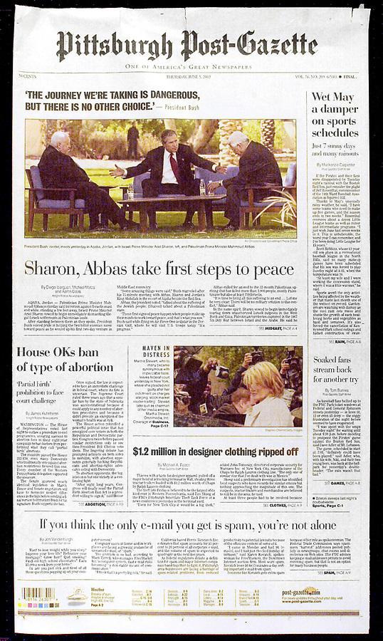Tuesday, June 5, 2003