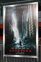 LOS ANGELES - OCT 16:  Geostorm Poster at the Geostorm Premiere at the TCL Chinese Theater IMAX on October 16, 2017 in Los Angeles, CA