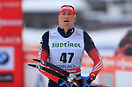 Alexander Legkov during the FIS Ski World Cup Men' 15 Km Individual Classic, on February 1, 2014 in Dobbiaco, Toblach. <br /> <br /> &copy; Pierre Teyssot