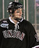 Kevin Sullivan (Union - 16) - The Union College Dutchmen defeated the Harvard University Crimson 2-0 on Friday, January 13, 2011, at Fenway Park in Boston, Massachusetts.