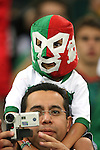 21 June 2006:  A young Mexico fan.  Portugal defeated Mexico 2-1 at Veltins Arena in Gelsenkirchen, Germany in match 31, a Group D first round game, of the 2006 FIFA World Cup.
