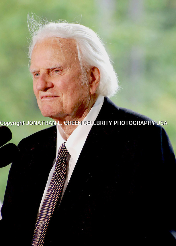 PRIVATE CEREMONY TO DEDICATE THE NEW BILLY GRAHAM LIBRARY IN CHARLOTTE , NC  05-31-2007.PHOTO BY JONATHAN GREEN-