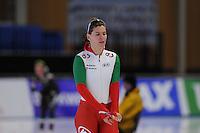 SCHAATSEN: BERLIJN: Sportforum, 06-12-2013, Essent ISU World Cup, 500m Ladies Division B, Ágota Toth-Lykovcan (HUN), ©foto Martin de Jong