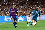 Supercopa de Espa&ntilde;a - Ida.<br /> FC Barcelona vs R. Madrid: 1-3.<br /> Jordi Alba vs Carvajal.