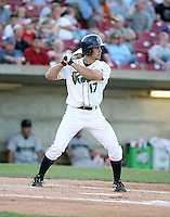 Chris Pettit of the Cedar Rapids Kernals during the Midwest League All-Star game.  Photo by:  Mike Janes/Four Seam Images