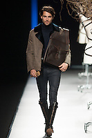 Miguel Marinero in Mercedes-Benz Fashion Week Madrid 2013