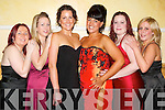 Celebration: Pushing the boat out at the New years eve ball in the Brandon hotel on Sunday, were Joanne Murphy, Katherine Long, Grace Kelliher, Melanie Hosford, Liz Long and Mallory McCarthey all from Tralee..