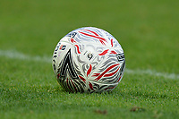 2018/19 season FA Cup ball during Barnet vs Stockport County, Emirates FA Cup Football at the Hive Stadium on 2nd December 2018