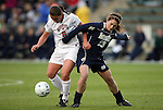 03 December 2010: Ohio State's Courtney Jenkins (6) and Notre Dame's Courtney Barg. The Notre Dame Fighting Irish defeated the Ohio State University Buckeyes 1-0 at WakeMed Stadium in Cary, North Carolina in an NCAA Women's College Cup semifinal game.