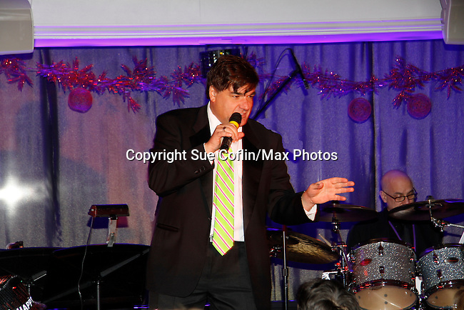 Dale Badway sings and hosts New Year's Eve 2016 and Times Square Ball Drop at The Copacabana, New York City, New York. (Photo by Sue Coflin/Max Photos)  suemax13@optonline.net