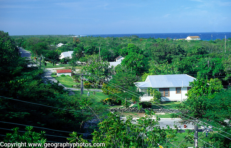 Stake Bay village,  Cayman Brac, Cayman Islands, British West Indies,