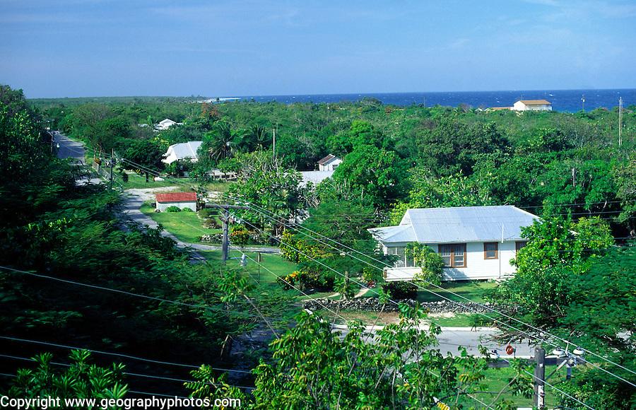 Stake Bay village,  Cayman Brac, Cayman Islands, British West Indies,