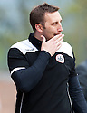 Stirling Albion manager Greig McDonald.
