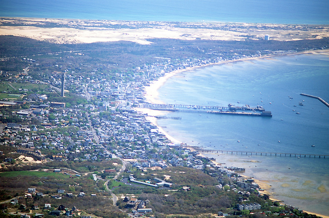 Aerial, Cape Cod, Atlantic Ocean, Massachusetts