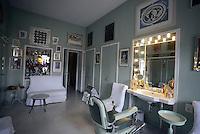 Roma, 15 Giugno 2015<br /> Alberto Sordi: ieri oggi e domani, conferenza stampa in villa.<br /> La barberia.<br /> The house of Alberto Sordi