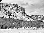 Yellowstone snow