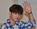 Jae-Joong Kim of JYJ arrives at Tokyo International Airport
