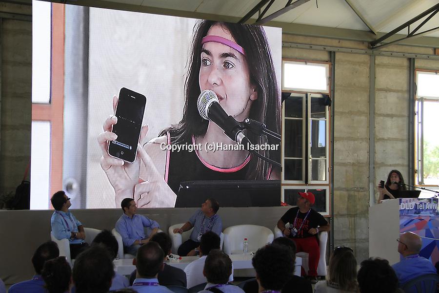Interaxon's Ariel Garten at DLD Tel Aviv Hi-Tech Conference and Inovation Festival