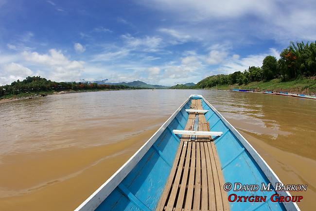 Going Along The Mekong River
