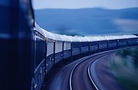 Venice Simplon-Orient-Express. Dawn near Troyes.