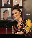 Shoshana Bean attends the 2019 Drama League Nominees Announcement at Sardi's on April 17, 2019 in New York City.