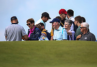 Patrick Reed (USA) during the preview of the 148th Open Championship, Royal Portrush Golf Club, Portrush, Antrim, Northern Ireland. 16/07/2019.<br /> Picture David Lloyd / Golffile.ie<br /> <br /> All photo usage must carry mandatory copyright credit (© Golffile | David Lloyd)