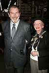 Richard Easton and Ann Kaufman Schneider attending the Opening Night Performance of ASSASSINS at Studio 54 in New York City.<br />