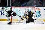 Stockholm 2014-03-21 Ishockey Kvalserien AIK - R&ouml;gle BK :  <br /> R&ouml;gles Emil Molin g&ouml;r m&aring;l p&aring; straff i straffl&auml;ggningen<br /> (Foto: Kenta J&ouml;nsson) Nyckelord: