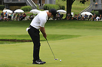 Paul Casey (ENG) putts on the 16th green during Sunday's Final Round of the WGC Bridgestone Invitational 2017 held at Firestone Country Club, Akron, USA. 6th August 2017.<br /> Picture: Eoin Clarke | Golffile<br /> <br /> <br /> All photos usage must carry mandatory copyright credit (&copy; Golffile | Eoin Clarke)