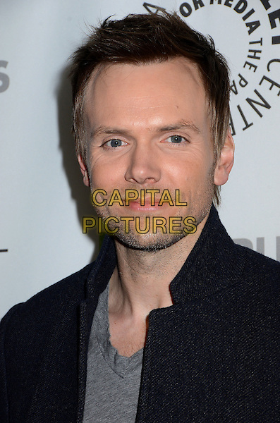 Joel McHale.The Paley Center For Media's PaleyFest 2013 Honoring 'Community' at Saban Theatre, Los Angeles, California, USA.  .March 5th, 2013.headshot portrait stubble facial hair black grey gray .CAP/ADM/BT.©Birdie Thompson/AdMedia/Capital Pictures.