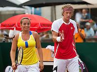 19-08-12, Netherlands, Amstelveen, NTK, Finale Mixed, Schimmel/Thyssen