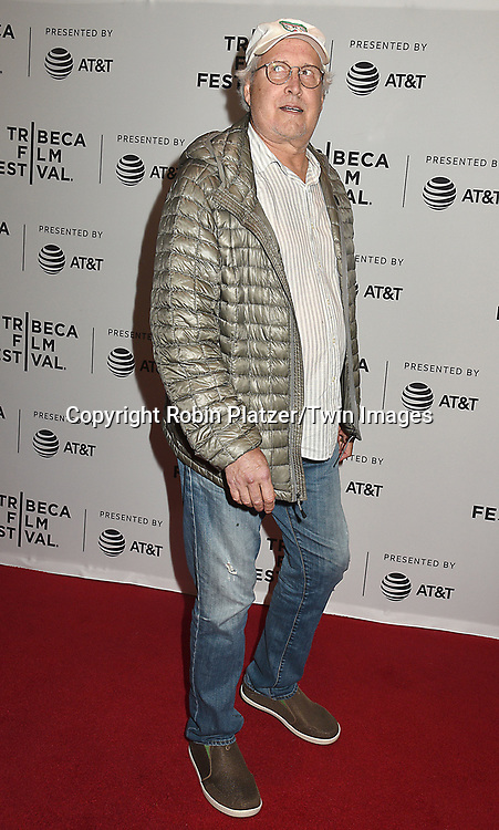 Chevy Chase attends the Dog Years&quot; screening at the Tribeca Film Festival on April 22, 2017 at Cinepolis Chelsea in New York, New York, USA.<br /> <br /> photo by Robin Platzer/Twin Images<br />  <br /> phone number 212-935-0770