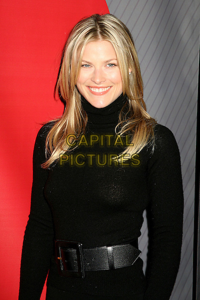 ALI LARTER.NBC's 2006 Winter Press Tour All-Star Party at the Ritz Carlton Hotel, Pasadena, California, USA..January 17th, 2007.half length black dress belt poloneck.CAP/ADM/BP.©Byron Purvis/AdMedia/Capital Pictures