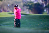 William McGirt (USA) watches his approach shot on 2 during round 1 of the Honda Classic, PGA National, Palm Beach Gardens, West Palm Beach, Florida, USA. 2/23/2017.<br /> Picture: Golffile | Ken Murray<br /> <br /> <br /> All photo usage must carry mandatory copyright credit (&copy; Golffile | Ken Murray)