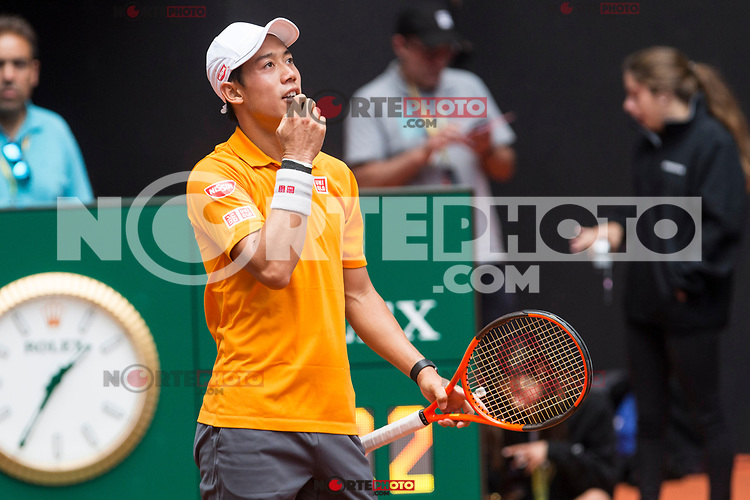 Kei Nishikori during the Mutua Madrid Open Tennis 2017 at Caja Magica in Madrid, May 10, 2017. Spain. /NortePhoto.com **NortePhoto.com
