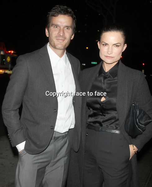 NEW YORK, NY - OCTOBER 28: Belthazar Getty and Rosetta Millington at the Premiere of Ketchup Entertainment's 'BIG SUR' at the Sunshine Landmark Theater in New York. October 28, 2013. <br />