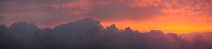 El hombre en las nubes / Panamá.<br /> <br /> Panorámica de 4 fotografías.<br /> <br /> Edición de 3 | Víctor Santamaría.
