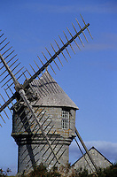 Europe/France/Pays de la Loire/44/Loire-Atlantique/Guérande : Moulin à vent