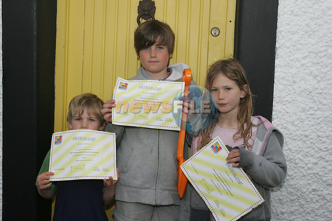 Conleth, Naoise and Iseult Law at the Prawn Festival in Clogherhead....Photo NEWSFILE/Jenny Matthews.(Photo credit should read Jenny Matthews/NEWSFILE)....This Picture has been sent you under the condtions enclosed by:.Newsfile Ltd..The Studio,.Millmount Abbey,.Drogheda,.Co Meath..Ireland..Tel: +353(0)41-9871240.Fax: +353(0)41-9871260.GSM: +353(0)86-2500958.email: pictures@newsfile.ie.www.newsfile.ie.FTP: 193.120.102.198.