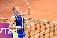 Karolina Pliskova of Czech Republic celebrates after winning  the Women's final against Johanna Konta of Great Britain 6-3, 6-4.     <br /> Roma 19/05/2019 Foro Italico  <br /> Internazionali BNL D'Italia Italian Open <br /> Photo Andrea Staccioli / Insidefoto