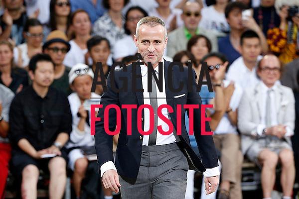 MIlao, Italia &ndash; 06/2014 - Desfile de Moncler Gamme Bleu durante a Semana de moda masculina de Milao - Verao 2015. <br /> Foto: FOTOSITE