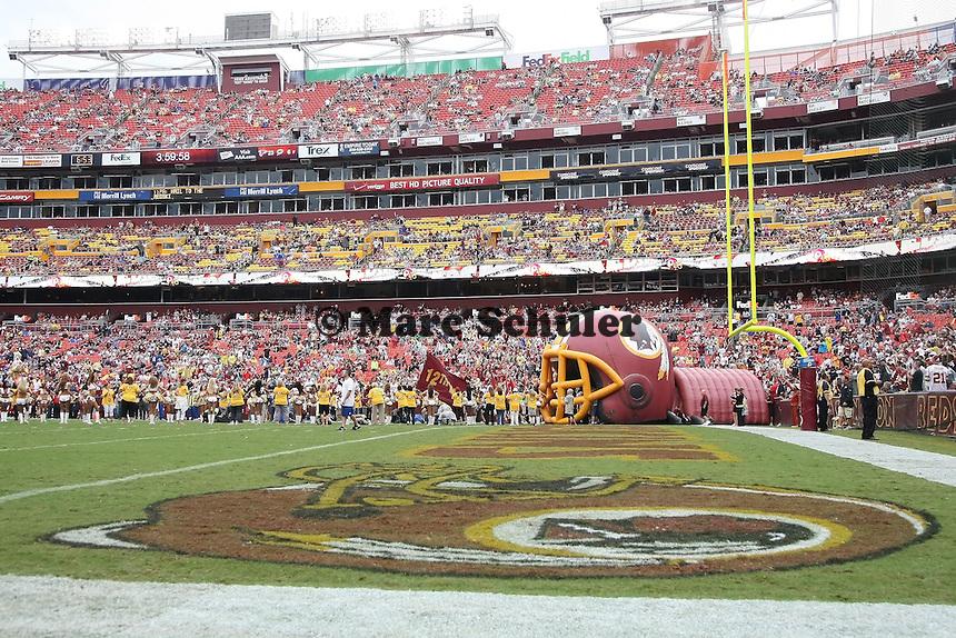 Einlauf der Washington Redskins